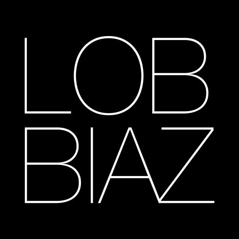 big logo noir